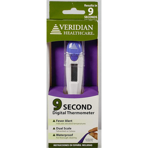 Oral Digital Thermometer by Veridian Healthcare (9 Second)