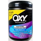 Oxy Acne Medication Deep Pore Cleansing Pads, 115 Count