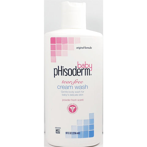 Phisoderm Baby Cream Wash 8 Fl Oz Each (1 Or 3 Pack) 1 Pack Needs