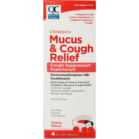 Children's Mucus & Cough Relief (Compare to Mucinex Cough)