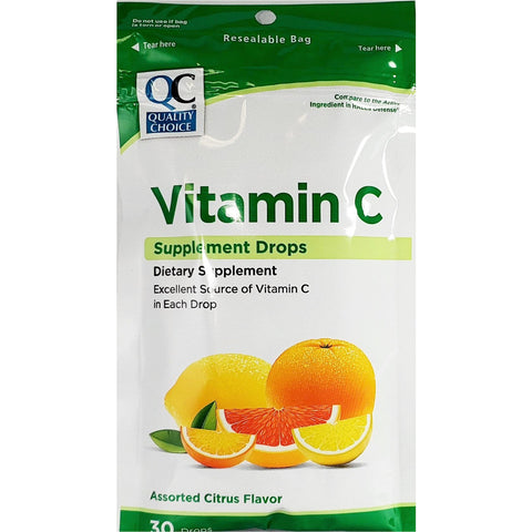 QC Vitamin C Drops (Immunity Support)