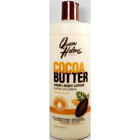 Queen Helene Cocoa Butter Hand & Body Lotion, 32 oz