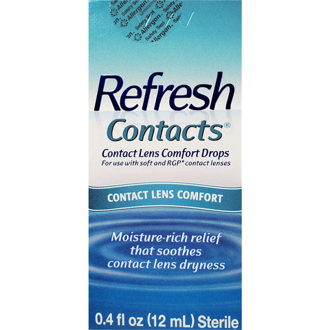 Refresh Contact Lens Comfort Drops, 0.4 fl oz (12 mL)