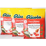 Ricola Cherry-Honey Throat Drops, 24 Per Bag (3 Pack)