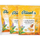 Ricola Honey-Herb Throat Drops 24 Per Bag (3 Or 6 Pack) 3 Pack Cough Cold & Flu
