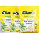 Ricola Lemon-Mint Throat Drops 24 Per Bag (3 Or 6 Pack) 3 Pack Cough Cold & Flu