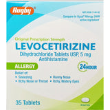 Rugby Levocetirizine, 5 mg (Compare to Xyzal Allergy) 35 Tablets