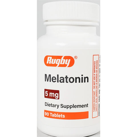 Rugby Melatonin 5 mg, 90 Tablets