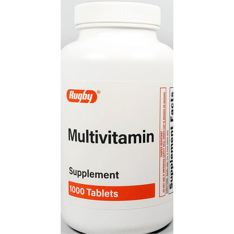 Rugby Multivitamin, 1000 Tablets