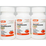 Simethicone, 180 mg 60 softgels each (3 Pack) by Rugby