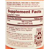 Sundown Folate, 666 mcg (400 mcg Folic Acid), 350 Tablets