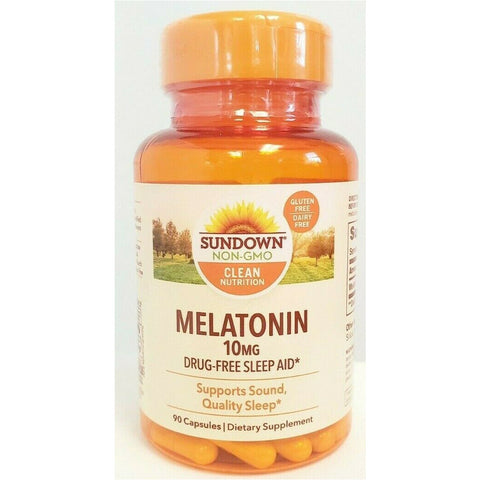 Sundown Naturals Melatonin 10 Mg 90 Capsules (1 Pack) Sleep Aids