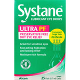 Systane Lubricant Eye Drops, 25 (Single Use) Vials