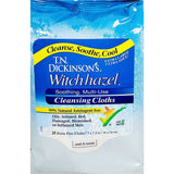 T.N. Dickinson's Witch Hazel Cleansing Cloths with Aloe, 25 Count