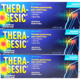 Theragesic Pain Relieving Cream 5 Oz Each (1 Or 3 Pack) Pack & Fever