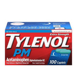 Tylenol Pm (Extra Strength) 500 Mg 100 Caplets (1 Pack) Pain & Fever