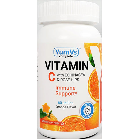Yum Vs Vitamin C w/ Echinacea & Rose Hips (Immune Support), 60 Gummies