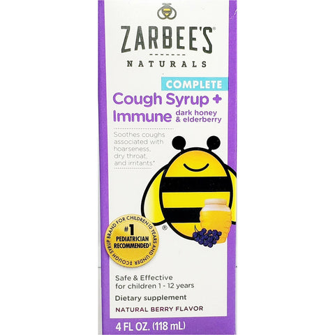 Zarbee's Naturals Cough Syrup + Immune