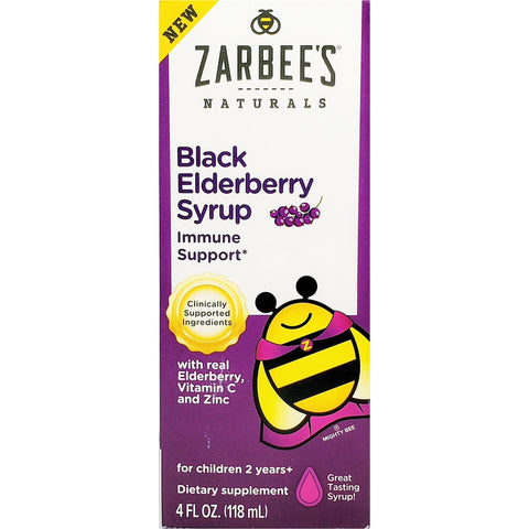 Zarbee's Naturals Black Elderberry Liquid (Immune Support)