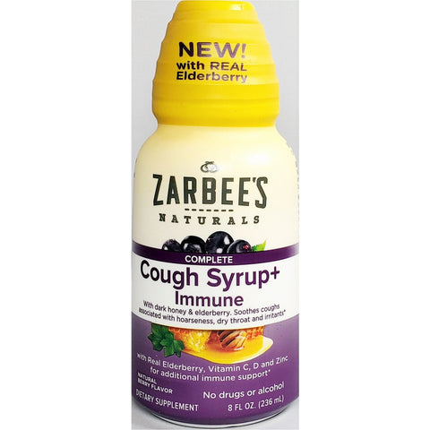 Zarbee's Naturals Complete Cough Syrup + Immune