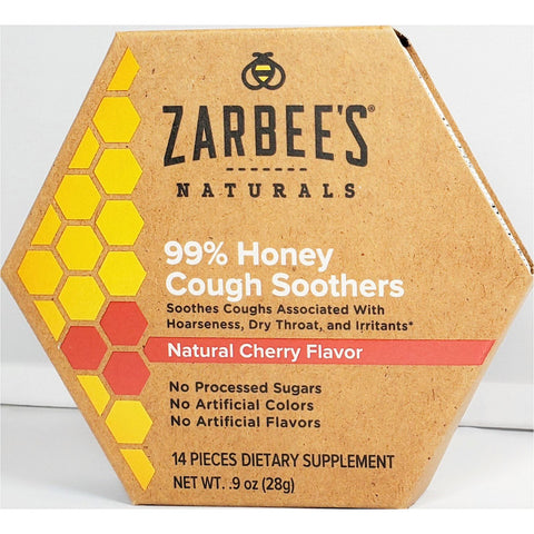 Zarbee's Naturals Cough Soothers (Natural Cherry Flavor)