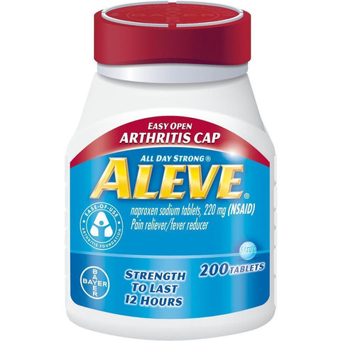 Aleve 220 mg, 200 Tablets (1 Pack)