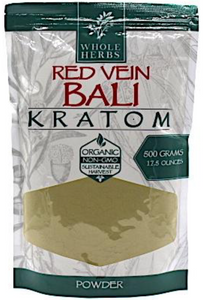Whole Herbs – Red Vein Bali Kratom Powder
