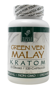 Whole Herbs Green Vein Malay Capsules