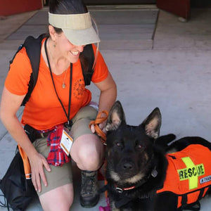Klaus and Jenevieve - California Search and Rescue & El Dorado Search and Rescue