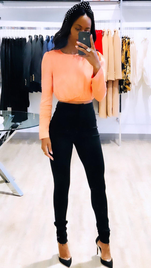 Peach Top - Kendi Boutique