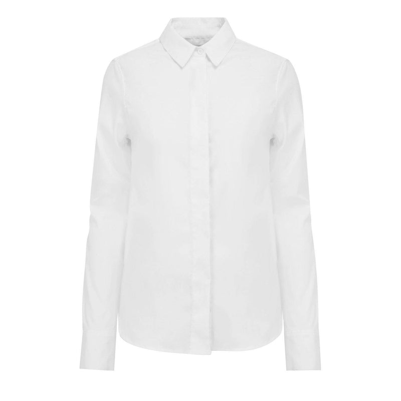 Fitted shirt with front detail