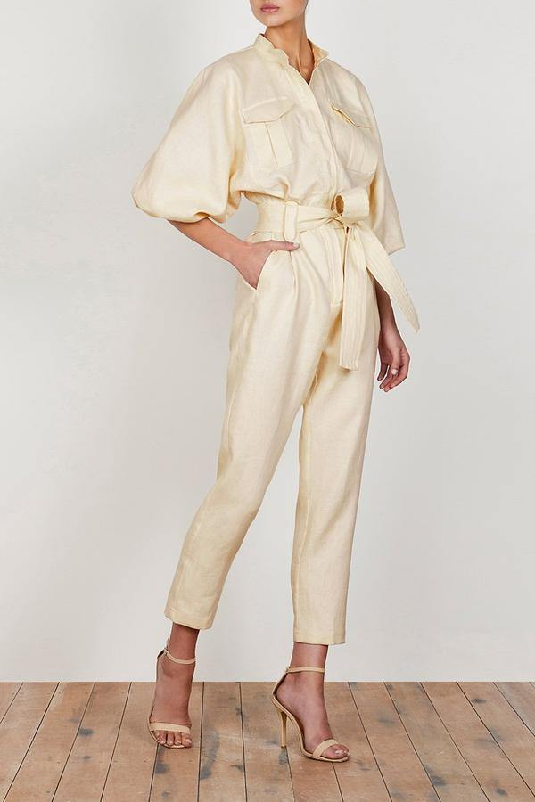 Let Balloon Sleeve Jumpsuit