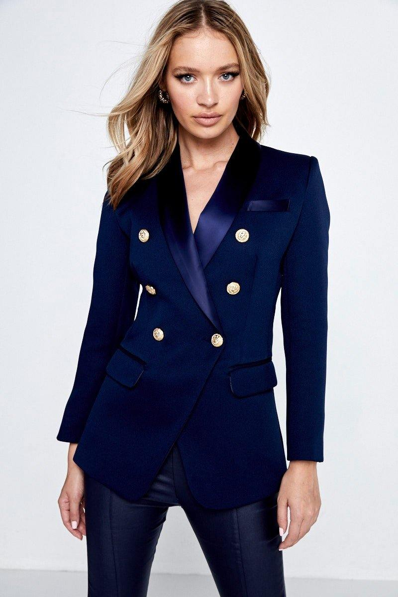 The Sartorial Blazer-Navy