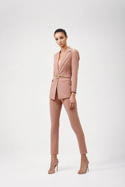 Celine Pants-Dusty Pink