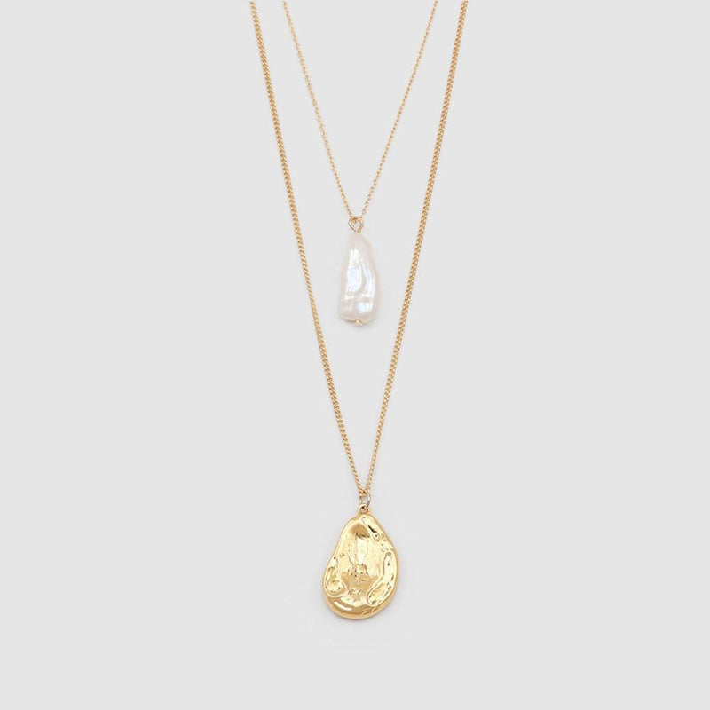 Pear Teardrop Necklace