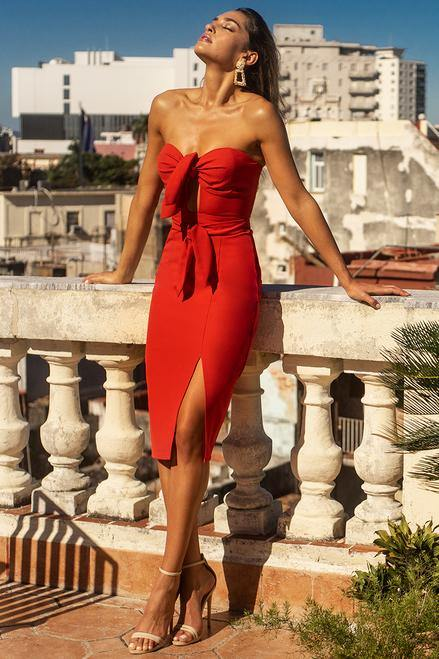 Parisian Red Dress