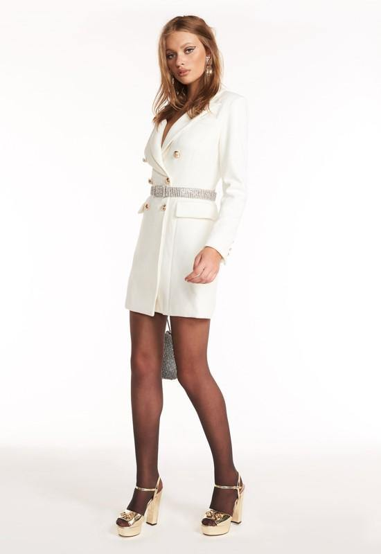 Ellia White Blazer
