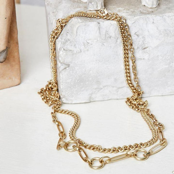 Clair 2-in-1 Necklace - Kendi Boutique