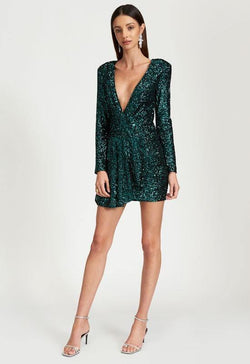 Clara Sequin Dress
