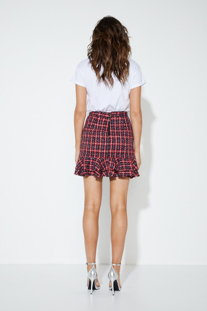 The Tweed Skirt - Kendi Boutique