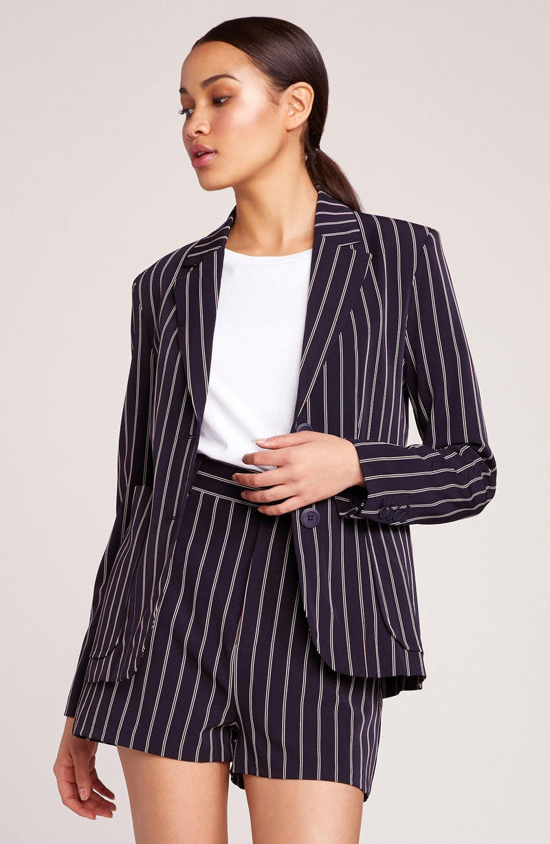 Stripe Suit Short