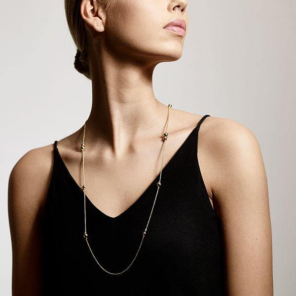 Earth Long Necklace - Kendi Boutique