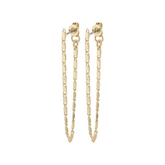Drop chain earrings - Kendi Boutique