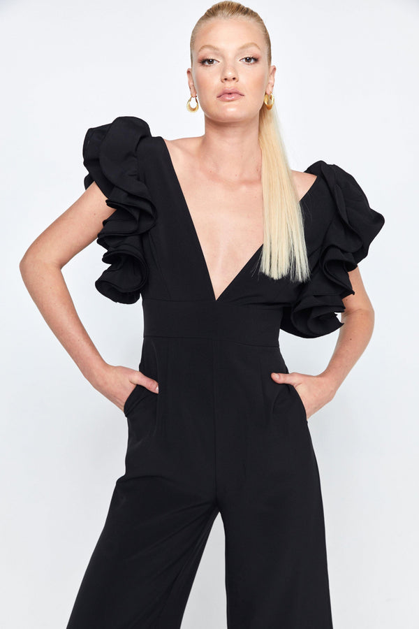 The Ruffle Jumpsuit.