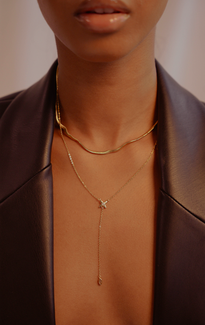 The Vee Necklace - Kendi Boutique