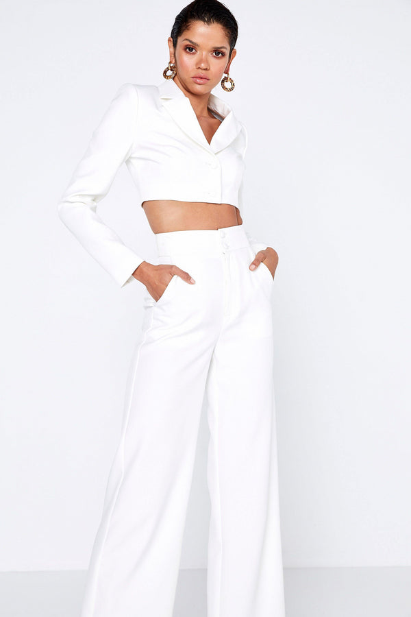 The Liana Pants-White