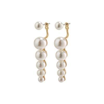 2-in-1 Pearl Earrings - Kendi Boutique