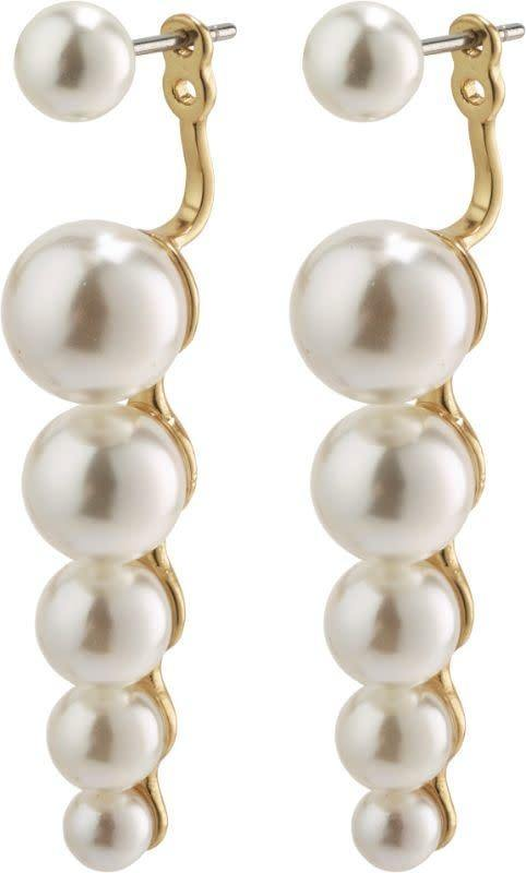 2-in-1 Pearl Earrings