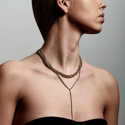 Curb Chain  2-in-1 Necklace