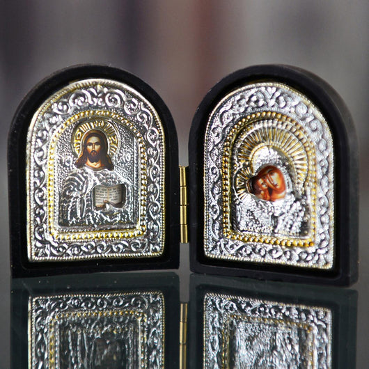 ICON HOLY FAMILY (SILVER) 2x4 22-033